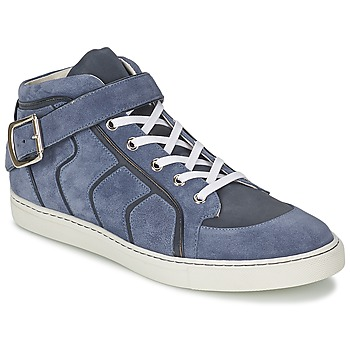 Chaussures Homme Baskets montantes Vivienne Westwood HIGH TRAINER Bleu