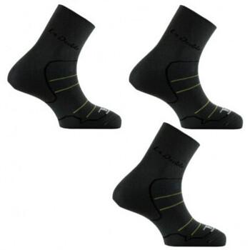 Accessoires Homme Chaussettes Thyo 2 paires + 1 gratuite de socquettes Double Anthracite