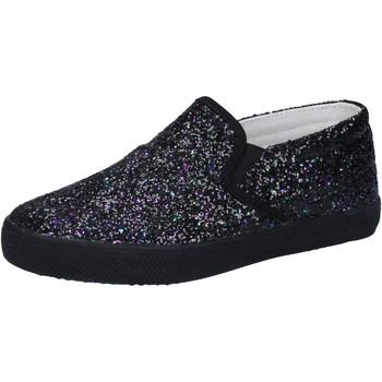Chaussures Fille Slip ons Date chaussures fille D.A.T.E. (DATE) slip on noir glitter AD836 noir