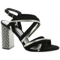 Chaussures Femme Sandales et Nu-pieds Bruno Premi Nu pieds cuir velours Noir