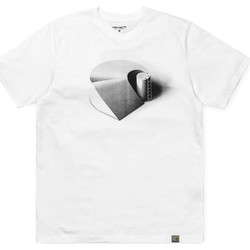 Vêtements Homme T-shirts manches courtes Carhartt CAMISETA  C RAMP SINGLE WHITE Blanc