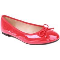 Chaussures Femme Ballerines / babies Primtex Ballerines verni rouge semelle intérieure cuir forme classique Rouge