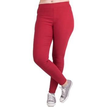 Vêtements Femme Leggings Primtex Jegging  stretch taille haute Grande Taille du 42 au 52 Rouge