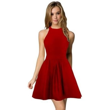Vêtements Femme Robes Berydress Robe dos nu Cocktail Sexy rouge