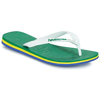Chaussures Homme Tongs Havaianas Brasil Layers Vert