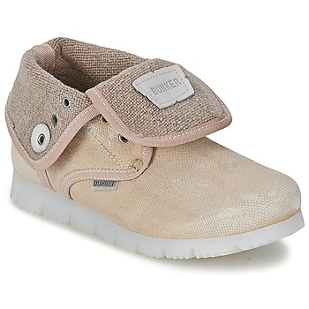 Chaussures Fille Boots Bunker LAST WALK Beige