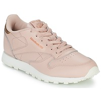 Chaussures Fille Baskets basses Reebok Classic CLASSIC LEATHER J Rose