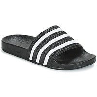 Chaussures Claquettes adidas Originals ADILETTE Noir / blanc