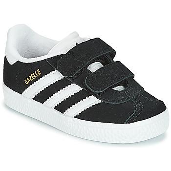 Chaussures Enfant Baskets basses adidas Originals GAZELLE CF I Noir