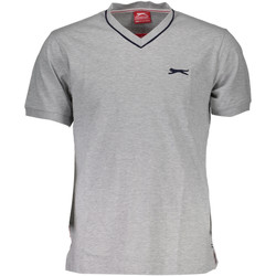 Vêtements Homme T-shirts manches courtes Slazenger SNR 00-2 Tricot avec les manches courtes  Homme GRIGIO GREY MAR GRIGIO GREY MARL