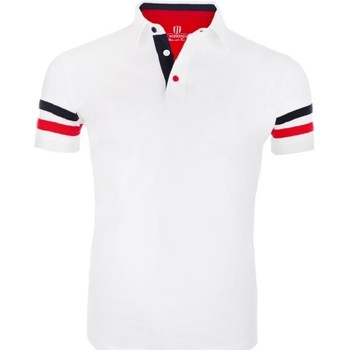 Vêtements Homme Polos manches courtes The Weekenders The Racer Blanc