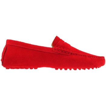 Chaussures Homme Mocassins The Weekenders The Driver Rouge