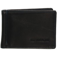 Sacs Portefeuilles Arthur & Aston Porte-cartes Arthur et Aston en cuir ref_ast42541 D Noir-Bleu 11 Noir-bleu