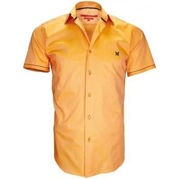 Vêtements Homme Chemises manches courtes Andrew Mac Allister chemisette mode pacific orange Orange