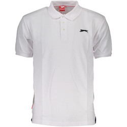 Vêtements Homme Polos manches courtes Slazenger SNR 62 Polo avec les manches courtes  Homme BIANCO WHITE BIANCO WHITE