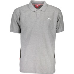 Vêtements Homme Polos manches courtes Slazenger SNR 62 Polo avec les manches courtes  Homme GRIGIO GREY MARL GRIGIO GREY MARL