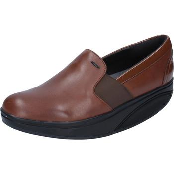 Chaussures Femme Mocassins Mbt chaussures femme  mocassins marron cuir cuir verni dynamic BZ910 marron