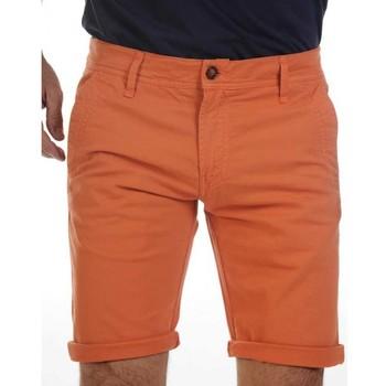 Vêtements Shorts / Bermudas Camberabero Bermuda rugby - Chino - Cambérabéro Orange