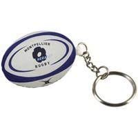Accessoires textile Porte-clés Gilbert Porte clés rugby Montpellier - Noir