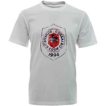 Vêtements Enfant T-shirts manches courtes adidas Originals Tee-shirt - Essai du bout du monde - Blanc