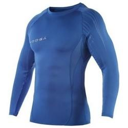 Vêtements Enfant T-shirts manches longues Kooga Baselayer de compression - Power shirt - Bleu