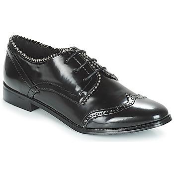 Chaussures Femme Derbies Moony Mood JENNY Noir