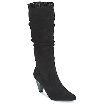 Chaussures Femme Bottes ville Moony Mood JULMA Noir