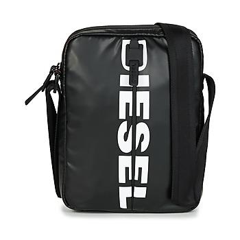 Sacs Homme Pochettes / Sacoches Diesel BOLD SMALL CROSS Noir