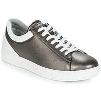 Chaussures Femme Baskets basses Emporio Armani BRUNA Etain