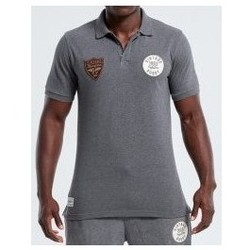 Vêtements Polos manches courtes Rugby Division Polo rugby adulte - Triomphe - Gris
