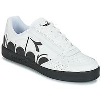 Chaussures Homme Baskets basses Diadora B.ELITE BOLDER Blanc / Noir
