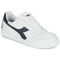 Chaussures Baskets basses Diadora B.ELITE Blanc / Marine
