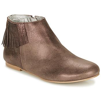 Chaussures Femme Boots Ippon Vintage DOLLY MAGIC Beige doré