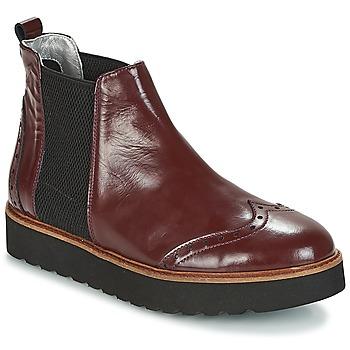 Chaussures Femme Boots Ippon Vintage HUNTER THICK Bordeaux