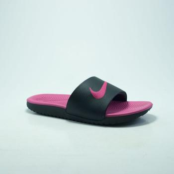Chaussures Homme Sabots Nike Claquette NIKE KAWA SLIDE NOIR/ROSE rose