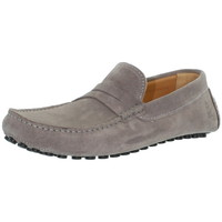 Chaussures Mocassins Les Mocassins Tropéziens Mocassins les tropéziens ref_lmc43296 Gris Clair gris