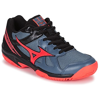 Chaussures Femme Sport Indoor Mizuno CYCLONE SPEED Noir / Gris / Orange