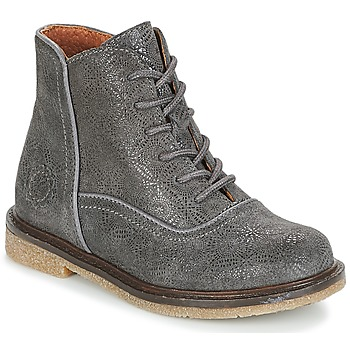 Chaussures Fille Boots Aster WANDAY Gris