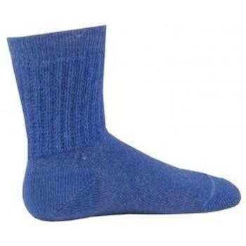 Accessoires Enfant Chaussettes Kindy Chaussettes à côtes bord non comprimant Bleu