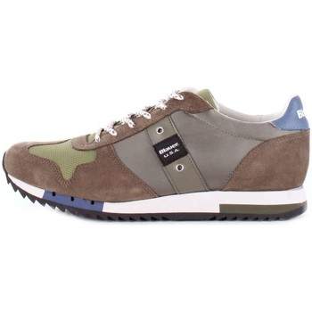 Chaussures Homme Baskets basses Blauer 8SQUINCY01/NYL BASKETS Homme MILITAIRE MILITAIRE