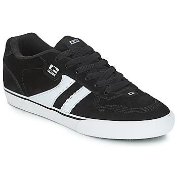 Chaussures Homme Baskets basses Globe ENCORE 2 Noir / Blanc