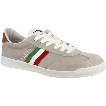Chaussures Homme Baskets basses Serafini FLAT gris