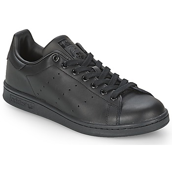 Chaussures Baskets basses adidas Originals STAN SMITH Noir