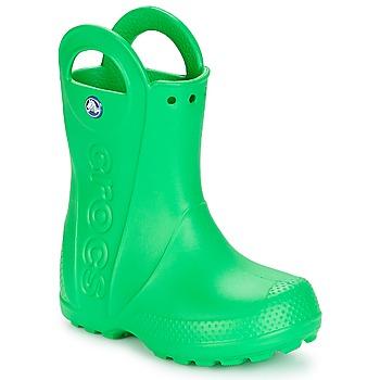 Chaussures Enfant Bottes de pluie Crocs HANDLE IT RAIN BOOT KIDS Vert