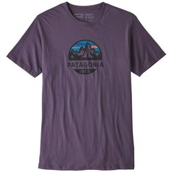 Vêtements Homme T-shirts manches courtes Patagonia Ms Fitz Roy Scope Organic Tshirt Violet