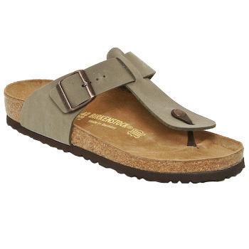 Chaussures Homme Tongs Birkenstock MEDINA Beige