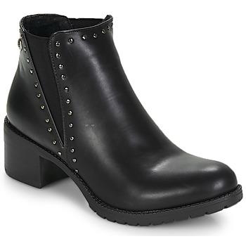 Chaussures Femme Bottines LPB Shoes LAURA Noir
