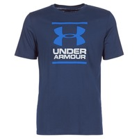 Vêtements Homme T-shirts manches courtes Under Armour UA GL FOUNDATION SS T Marine