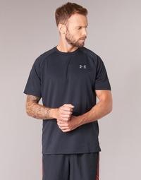 Vêtements Homme T-shirts manches courtes Under Armour UA TECH SS TEE Noir