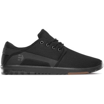 Chaussures Baskets basses Etnies SCOUT BLACK BLACK GUM